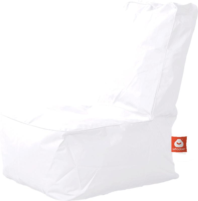 <h3>Comfortabele witte kinderzitzak van Whoober-outdoor kwaliteit die in Nederland door Whoober wordt geproduceerd. Gratis verzending en binnen enkele werkdagen in huis!</h3><h2>Belangrijkste eigenschappen van&nbsp;de Fiji</h2><ul><li>Ook voor de zakelijk