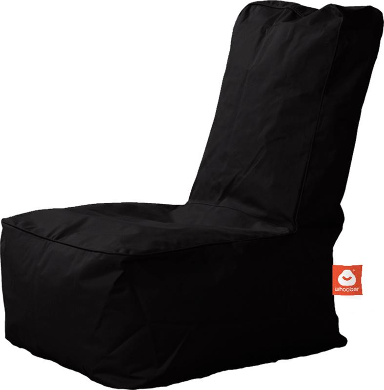 <h3>Comfortabele zwarte kinderzitzak van Whoober-outdoor kwaliteit die in Nederland door Whoober wordt geproduceerd. Gratis verzending en binnen enkele werkdagen in huis!</h3><h2>Belangrijkste eigenschappen van&nbsp;de Fiji</h2><ul><li>Ook voor de zakelij