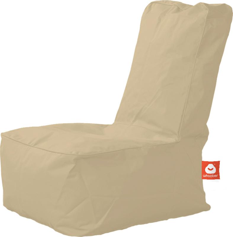 <h3>Comfortabele beige kinderzitzak van Whoober-outdoor kwaliteit die in Nederland door Whoober wordt geproduceerd. Gratis verzending en binnen enkele werkdagen in huis!</h3><h2>Belangrijkste eigenschappen van&nbsp;de Fiji</h2><ul><li>Ook voor de zakelijk