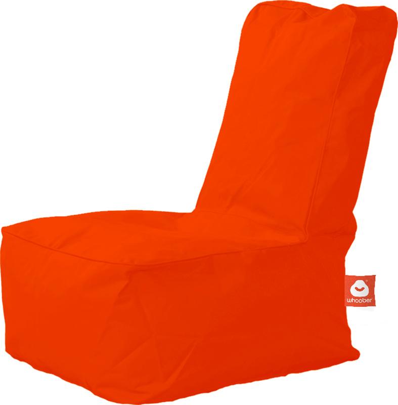 <h3>Comfortabele donker oranje kinderzitzak van Whoober-outdoor kwaliteit die in Nederland door Whoober wordt geproduceerd. Gratis verzending en binnen enkele werkdagen in huis!</h3><h2>Belangrijkste eigenschappen van&nbsp;de Fiji</h2><ul><li>Ook voor de