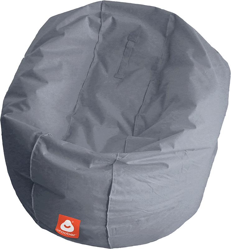<h3>Comfortabele grijze ronde zitzak van Whoober-outdoor kwaliteit die in Nederland door Whoober wordt geproduceerd. Gratis verzending en binnen enkele werkdagen in huis!</h3><h2>Belangrijkste eigenschappen van&nbsp;de Ibiza Large</h2><ul><li>Ook voor de