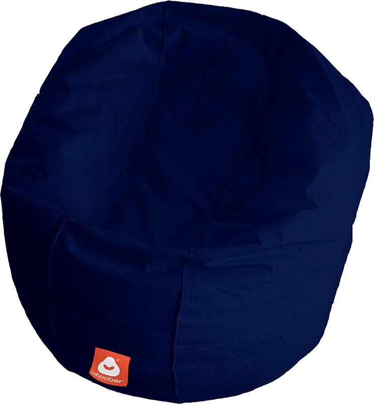<h3>Comfortabele marine blauwe ronde zitzak van Whoober-outdoor kwaliteit die in Nederland door Whoober wordt geproduceerd. Gratis verzending en binnen enkele werkdagen in huis!</h3><h2>Belangrijkste eigenschappen van&nbsp;de Ibiza Large</h2><ul><li>Ook v