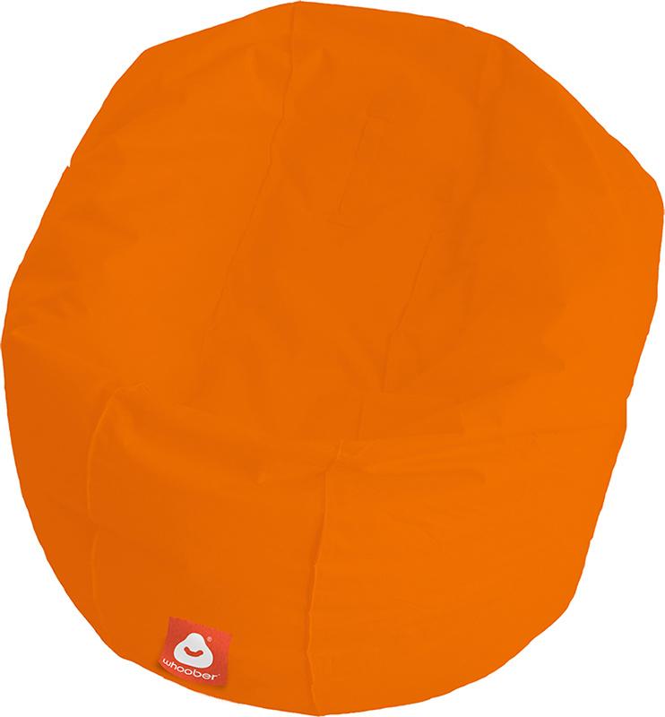 <h3>Comfortabele oranje ronde zitzak van Whoober-outdoor kwaliteit die in Nederland door Whoober wordt geproduceerd. Gratis verzending en binnen enkele werkdagen in huis!</h3><h2>Belangrijkste eigenschappen van&nbsp;de Ibiza Large</h2><ul><li>Ook voor de