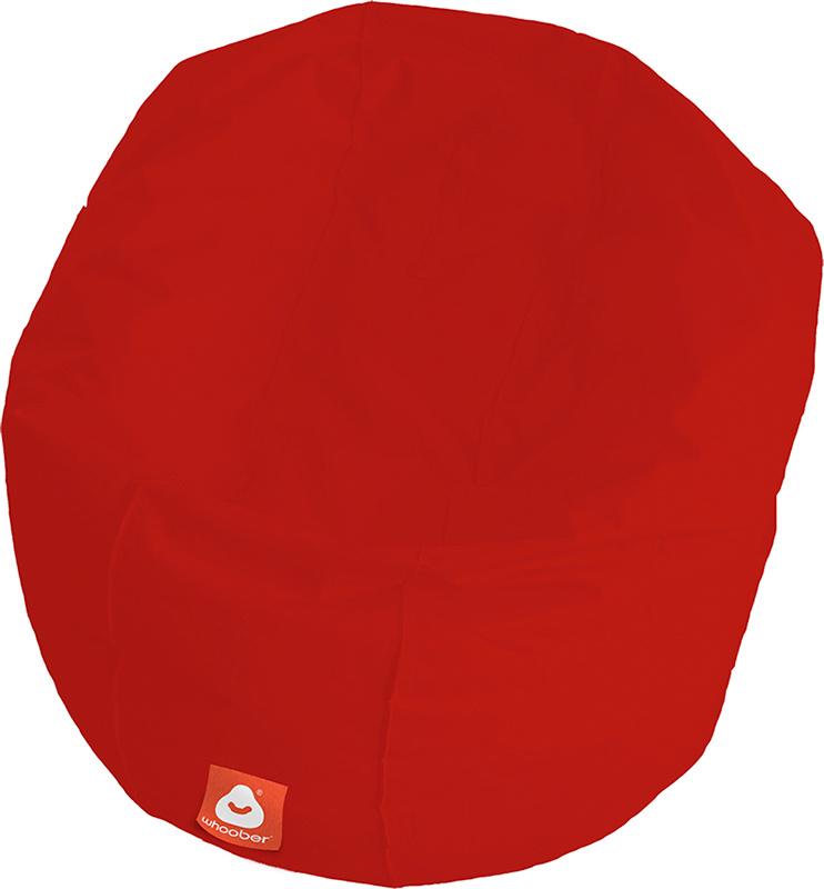 <h3>Comfortabele rode ronde zitzak van Whoober-outdoor kwaliteit die in Nederland door Whoober wordt geproduceerd. Gratis verzending en binnen enkele werkdagen in huis!</h3><h2>Belangrijkste eigenschappen van&nbsp;de Ibiza Large</h2><ul><li>Ook voor de za