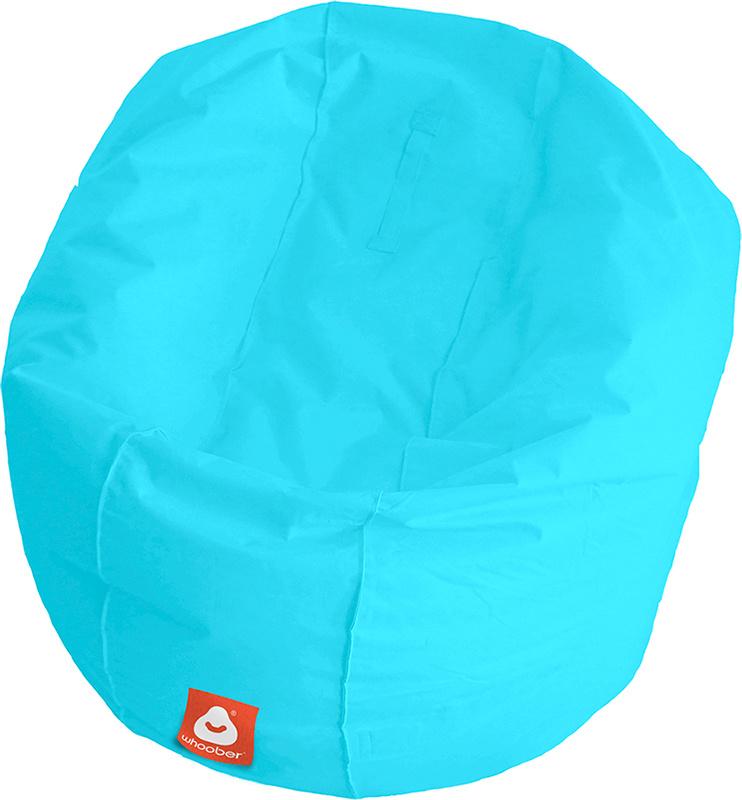<h3>Comfortabele aqua blauwe ronde zitzak van Whoober-outdoor kwaliteit die in Nederland door Whoober wordt geproduceerd. Gratis verzending en binnen enkele werkdagen in huis!</h3><h2>Belangrijkste eigenschappen van&nbsp;de Ibiza Large</h2><ul><li>Ook voo