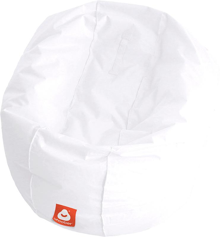 <h3>Comfortabele witte ronde zitzak van Whoober-outdoor kwaliteit die in Nederland door Whoober wordt geproduceerd. Gratis verzending en binnen enkele werkdagen in huis!</h3><h2>Belangrijkste eigenschappen van&nbsp;de Ibiza Large</h2><ul><li>Ook voor de z