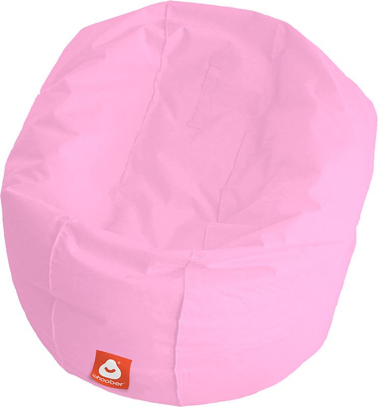 <h3>Comfortabele roze ronde zitzak van Whoober-outdoor kwaliteit die in Nederland door Whoober wordt geproduceerd. Gratis verzending en binnen enkele werkdagen in huis!</h3><h2>Belangrijkste eigenschappen van&nbsp;de Ibiza Large</h2><ul><li>Ook voor de za