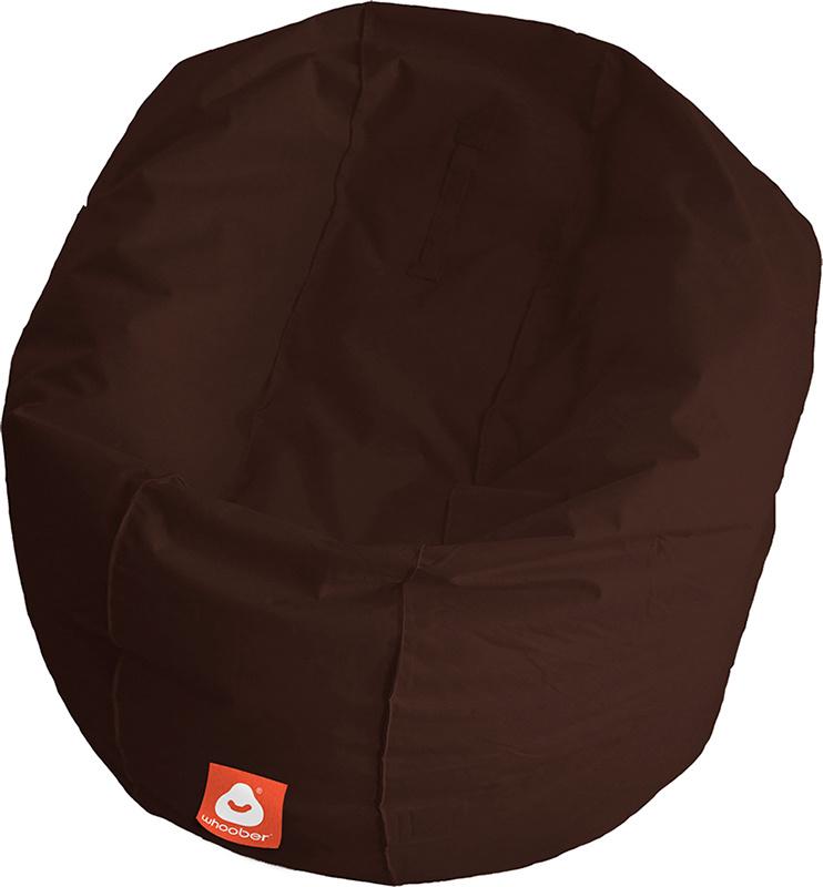 <h3>Comfortabele donker bruine ronde zitzak van Whoober-outdoor kwaliteit die in Nederland door Whoober wordt geproduceerd. Gratis verzending en binnen enkele werkdagen in huis!</h3><h2>Belangrijkste eigenschappen van&nbsp;de Ibiza Large</h2><ul><li>Ook v