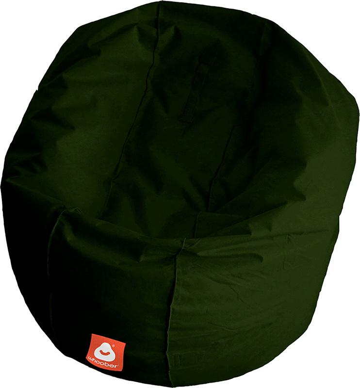 <h3>Comfortabele leger groene ronde zitzak van Whoober-outdoor kwaliteit die in Nederland door Whoober wordt geproduceerd. Gratis verzending en binnen enkele werkdagen in huis!</h3><h2>Belangrijkste eigenschappen van&nbsp;de Ibiza Large</h2><ul><li>Ook vo