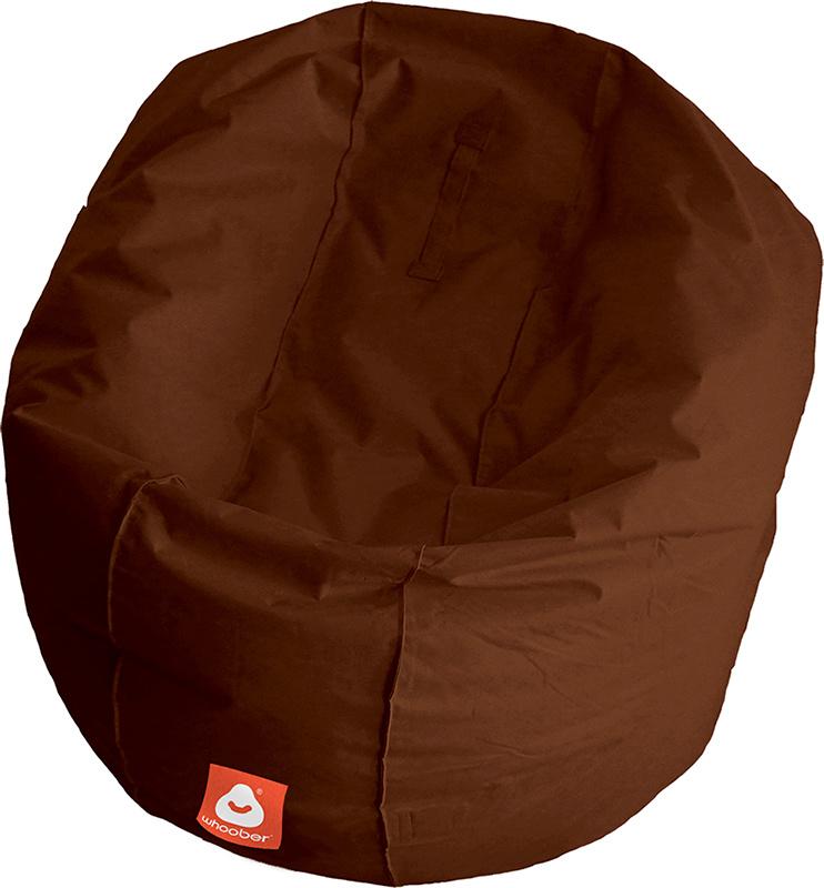 <h3>Comfortabele licht bruine ronde zitzak van Whoober-outdoor kwaliteit die in Nederland door Whoober wordt geproduceerd. Gratis verzending en binnen enkele werkdagen in huis!</h3><h2>Belangrijkste eigenschappen van&nbsp;de Ibiza Large</h2><ul><li>Ook vo