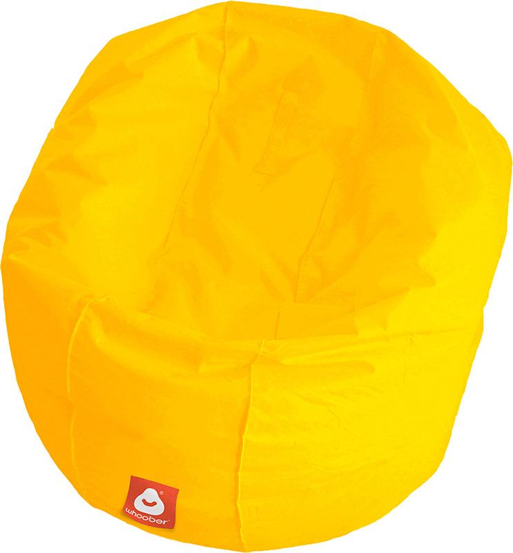 <h3>Comfortabele gele ronde zitzak van Whoober-outdoor kwaliteit die in Nederland door Whoober wordt geproduceerd. Gratis verzending en binnen enkele werkdagen in huis!</h3><h2>Belangrijkste eigenschappen van&nbsp;de Ibiza Large</h2><ul><li>Ook voor de za