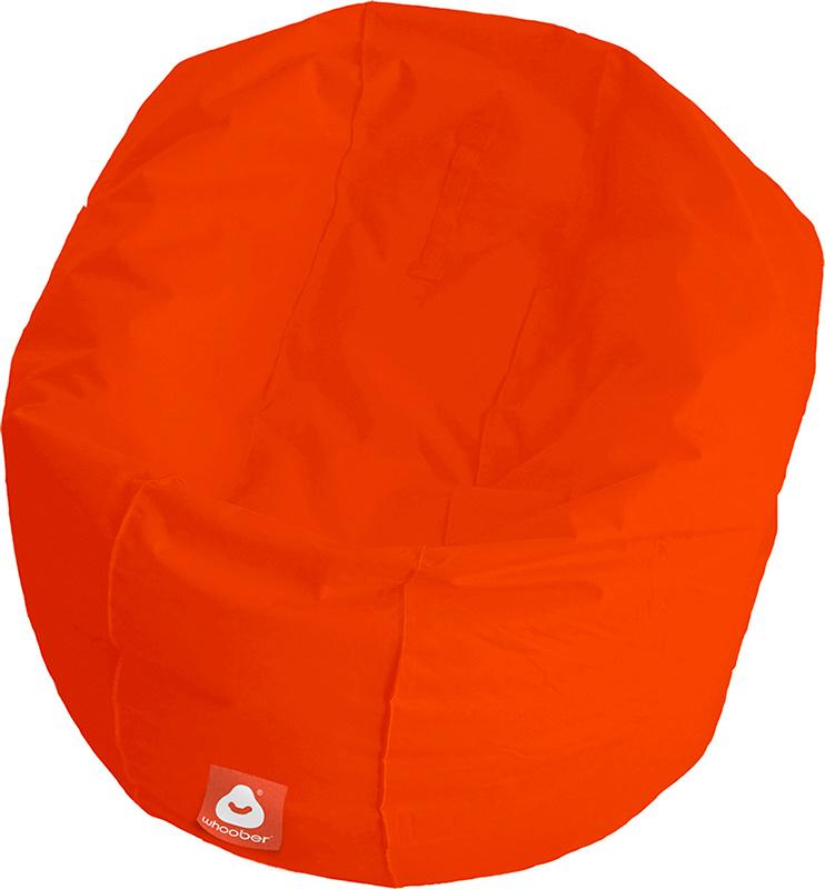 <h3>Comfortabele donker oranje ronde zitzak van Whoober-outdoor kwaliteit die in Nederland door Whoober wordt geproduceerd. Gratis verzending en binnen enkele werkdagen in huis!</h3><h2>Belangrijkste eigenschappen van&nbsp;de Ibiza Large</h2><ul><li>Ook v