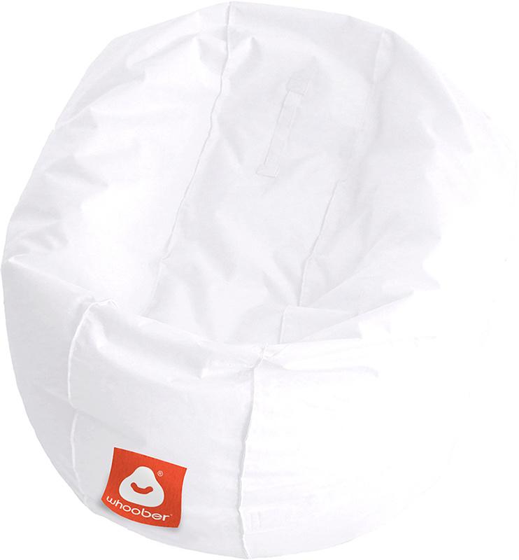 <h3>Comfortabele witte ronde zitzak van Whoober-outdoor kwaliteit die in Nederland door Whoober wordt geproduceerd. Gratis verzending en binnen enkele werkdagen in huis!</h3><strong>Belangrijkste eigenschappen van&nbsp;de Ibiza Medium</strong><ul><li>Ook