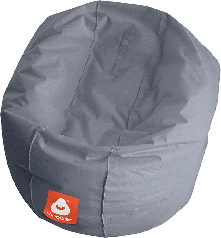<h3>Comfortabele grijze ronde zitzak van Whoober-outdoor kwaliteit die in Nederland door Whoober wordt geproduceerd. Gratis verzending en binnen enkele werkdagen in huis!</h3><strong>Belangrijkste eigenschappen van&nbsp;de Ibiza Medium</strong><ul><li>Ook
