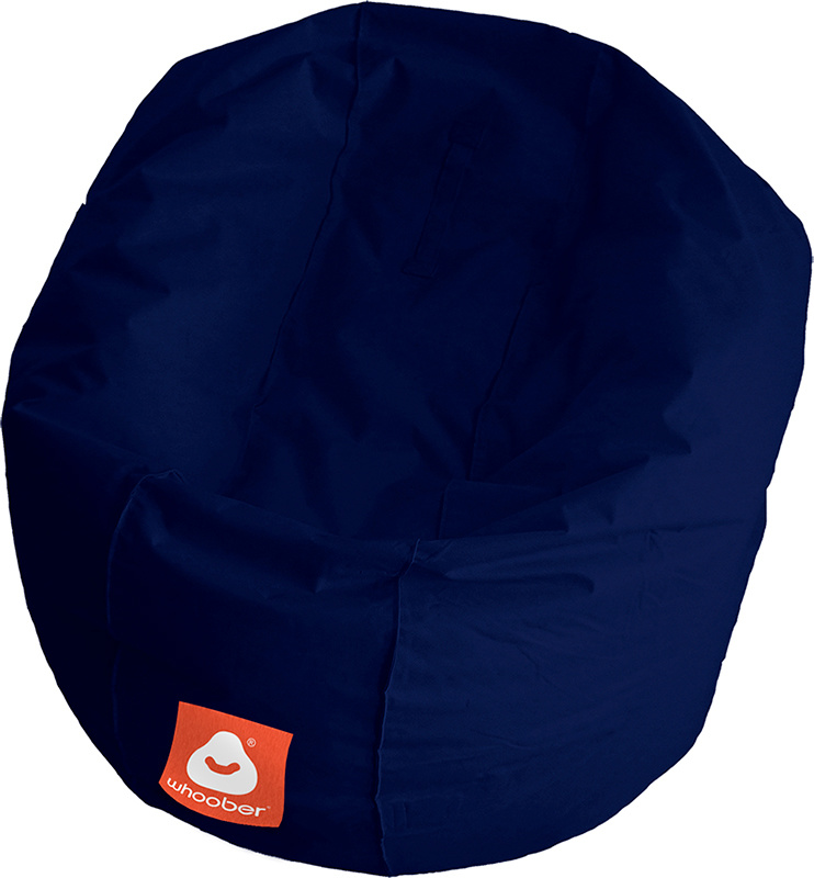 <h3>Comfortabele marine blauwe ronde zitzak van Whoober-outdoor kwaliteit die in Nederland door Whoober wordt geproduceerd. Gratis verzending en binnen enkele werkdagen in huis!</h3><strong>Belangrijkste eigenschappen van&nbsp;de Ibiza Medium</strong><ul>