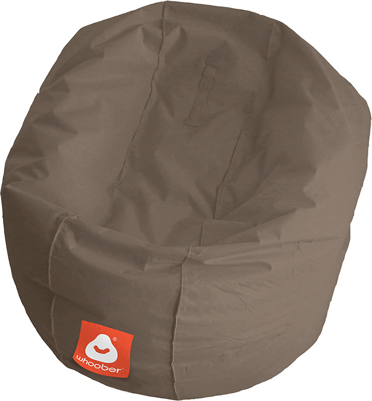 <h3>Comfortabele taupe ronde zitzak van Whoober-outdoor kwaliteit die in Nederland door Whoober wordt geproduceerd. Gratis verzending en binnen enkele werkdagen in huis!</h3><strong>Belangrijkste eigenschappen van&nbsp;de Ibiza Medium</strong><ul><li>Ook