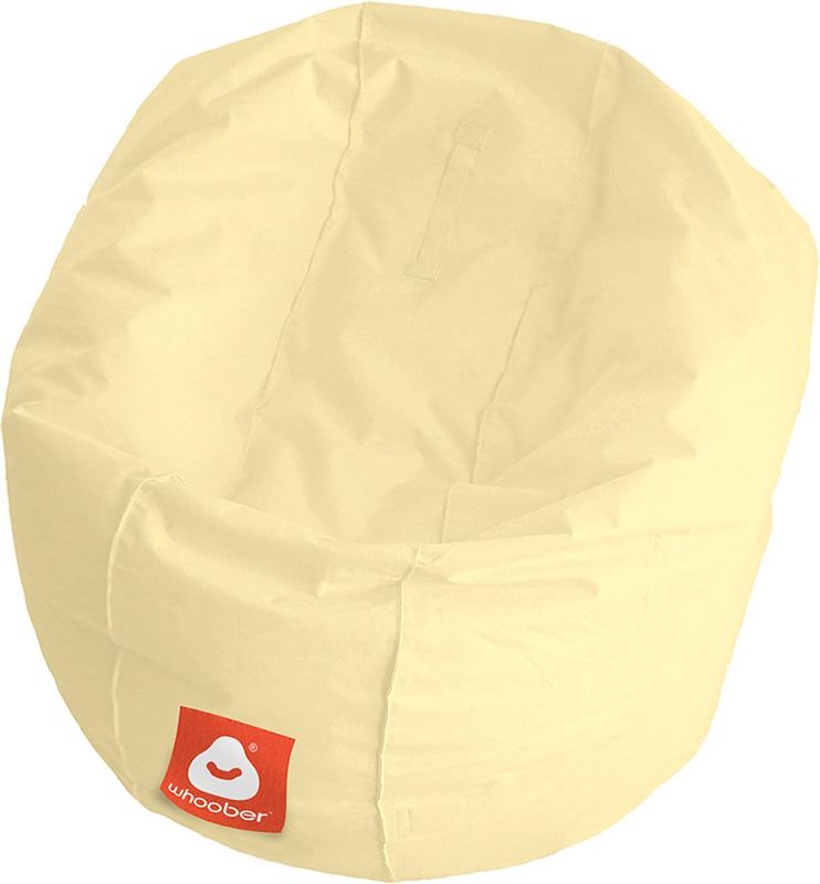 <h3>Comfortabele crème ronde zitzak van Whoober-outdoor kwaliteit die in Nederland door Whoober wordt geproduceerd. Gratis verzending en binnen enkele werkdagen in huis!</h3><strong>Belangrijkste eigenschappen van&nbsp;de Ibiza Medium</strong><ul><li>Ook