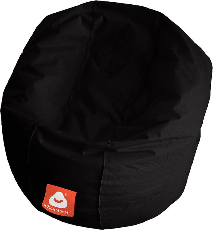<h3>Comfortabele zwarte ronde zitzak van Whoober-outdoor kwaliteit die in Nederland door Whoober wordt geproduceerd. Gratis verzending en binnen enkele werkdagen in huis!</h3><strong>Belangrijkste eigenschappen van&nbsp;de Ibiza Medium</strong><ul><li>Ook