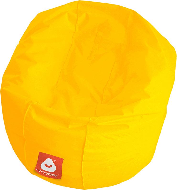 <h3>Comfortabele gele ronde zitzak van Whoober-outdoor kwaliteit die in Nederland door Whoober wordt geproduceerd. Gratis verzending en binnen enkele werkdagen in huis!</h3><strong>Belangrijkste eigenschappen van&nbsp;de Ibiza Medium</strong><ul><li>Ook v