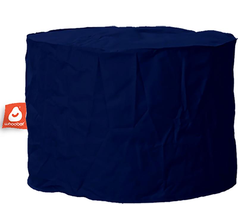 <h3>Comfortabele &amp; multifunctionele marine blauwe poef van Whoober-outdoor kwaliteit die in Nederland door Whoober wordt geproduceerd. Gratis verzending en binnen enkele werkdagen in huis!</h3><h2>Belangrijkste eigenschappen van&nbsp;de Rhodos</h2><ul