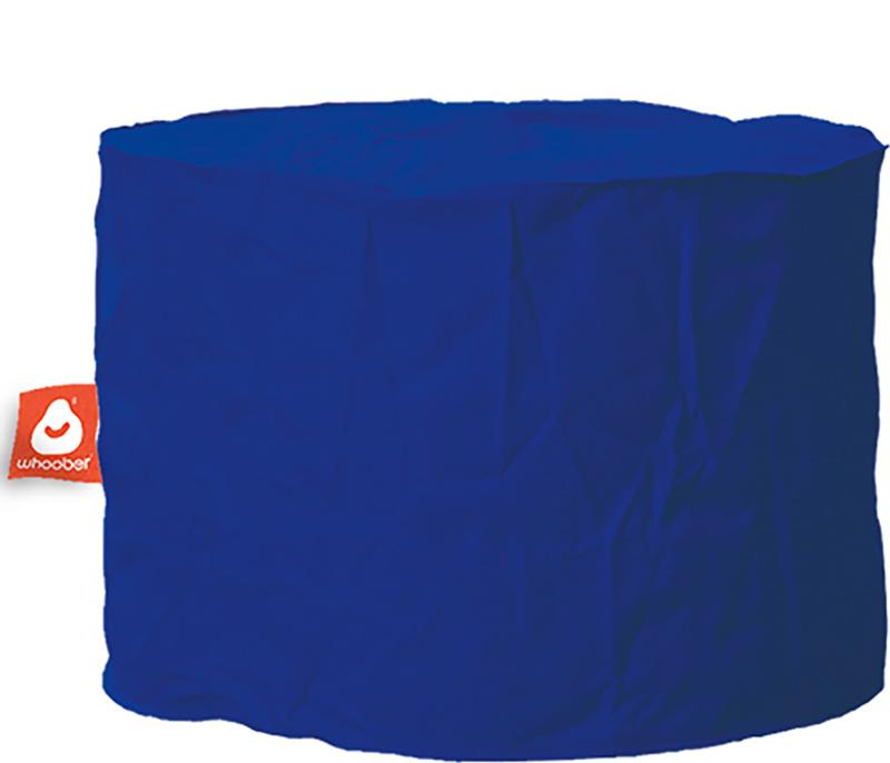 <h3>Comfortabele &amp; multifunctionele kobalt blauwe poef van Whoober-outdoor kwaliteit die in Nederland door Whoober wordt geproduceerd. Gratis verzending en binnen enkele werkdagen in huis!</h3><h2>Belangrijkste eigenschappen van&nbsp;de Rhodos</h2><ul