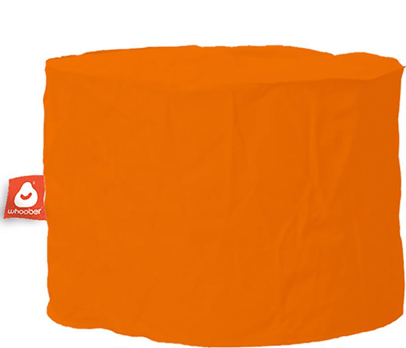 <h3>Comfortabele &amp; multifunctionele oranje poef van Whoober-outdoor kwaliteit die in Nederland door Whoober wordt geproduceerd. Gratis verzending en binnen enkele werkdagen in huis!</h3><h2>Belangrijkste eigenschappen van&nbsp;de Rhodos</h2><ul><li>Oo