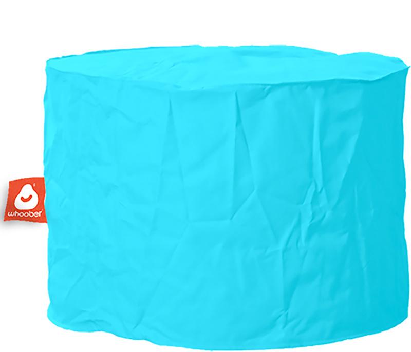 <h3>Comfortabele &amp; multifunctionele aqua blauwe poef van Whoober-outdoor kwaliteit die in Nederland door Whoober wordt geproduceerd. Gratis verzending en binnen enkele werkdagen in huis!</h3><h2>Belangrijkste eigenschappen van&nbsp;de Rhodos</h2><ul><