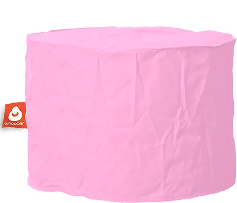 <h3>Comfortabele &amp; multifunctionele roze poef van Whoober-outdoor kwaliteit die in Nederland door Whoober wordt geproduceerd. Gratis verzending en binnen enkele werkdagen in huis!</h3><h2>Belangrijkste eigenschappen van&nbsp;de Rhodos</h2><ul><li>Ook