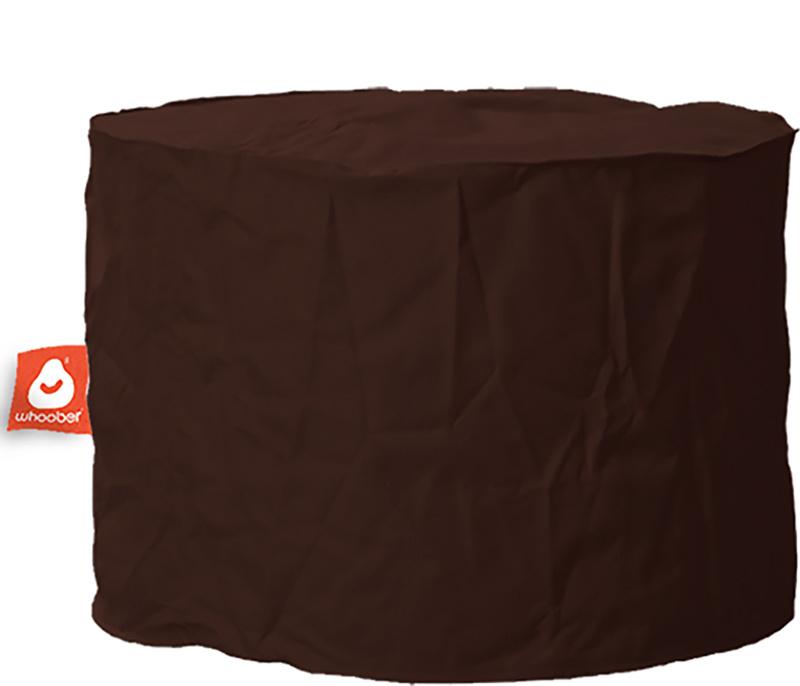 <h3>Comfortabele &amp; multifunctionele donker bruine poef van Whoober-outdoor kwaliteit die in Nederland door Whoober wordt geproduceerd. Gratis verzending en binnen enkele werkdagen in huis!</h3><h2>Belangrijkste eigenschappen van&nbsp;de Rhodos</h2><ul