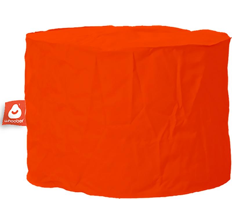 <h3>Comfortabele &amp; multifunctionele donker oranje poef van Whoober-outdoor kwaliteit die in Nederland door Whoober wordt geproduceerd. Gratis verzending en binnen enkele werkdagen in huis!</h3><h2>Belangrijkste eigenschappen van&nbsp;de Rhodos</h2><ul