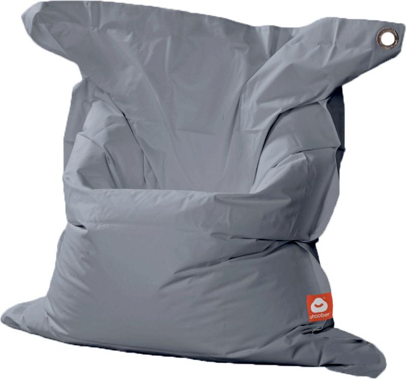 <h3>Comfortabele grijze rechthoekige XL-zitzak van Whoober-outdoor kwaliteit die in Nederland door Whoober wordt geproduceerd. Gratis verzending en binnen enkele werkdagen in huis!</h3><h2>Belangrijkste eigenschappen van&nbsp;de St. Tropez XL</h2><ul><li>