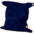 """Whoober Whoober Rechthoek zitzak """"St. Tropez"""" XL outdoor marine blauw - Wasbaar - Geschikt voor buiten"""