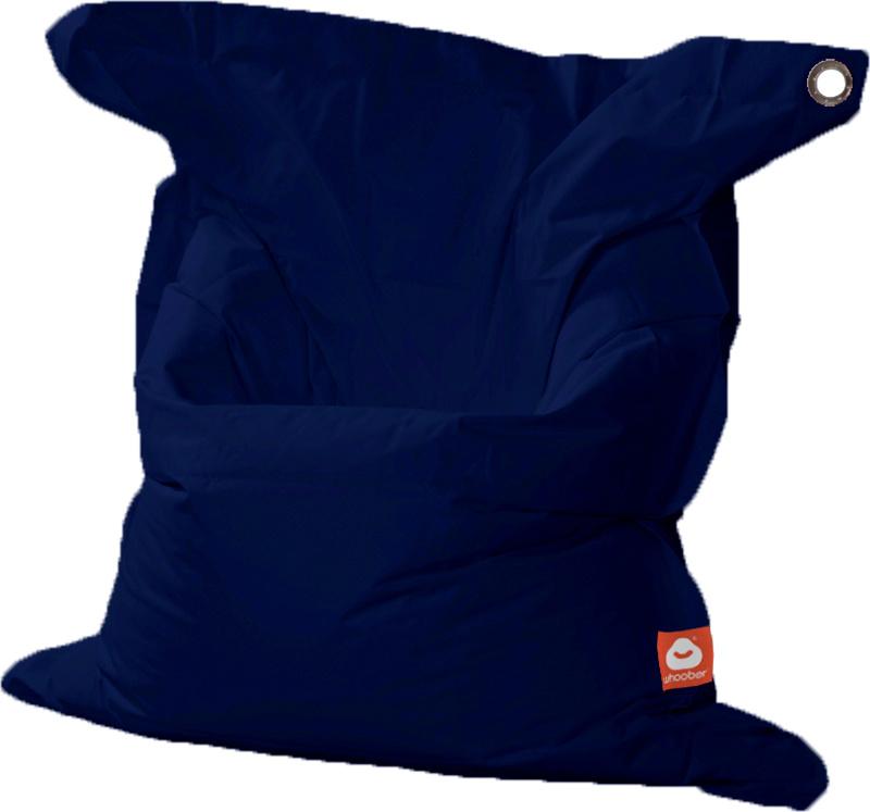 <h3>Comfortabele marine blauwe rechthoekige XL-zitzak van Whoober-outdoor kwaliteit die in Nederland door Whoober wordt geproduceerd. Gratis verzending en binnen enkele werkdagen in huis!</h3><h2>Belangrijkste eigenschappen van&nbsp;de St. Tropez XL</h2><
