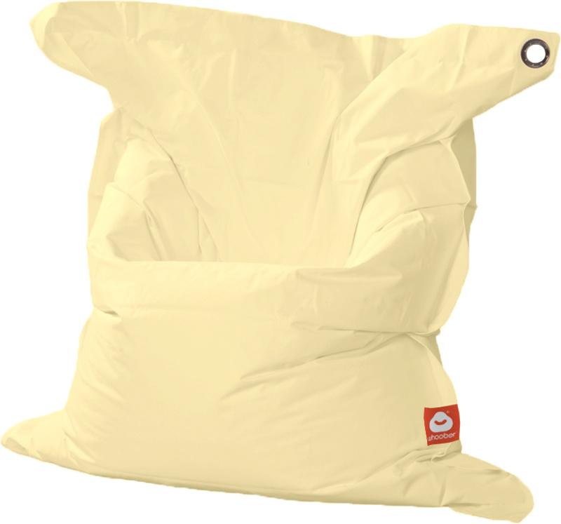 <h3>Comfortabele crème rechthoekige XL-zitzak van Whoober-outdoor kwaliteit die in Nederland door Whoober wordt geproduceerd. Gratis verzending en binnen enkele werkdagen in huis!</h3><h2>Belangrijkste eigenschappen van&nbsp;de St. Tropez XL</h2><ul><li>O