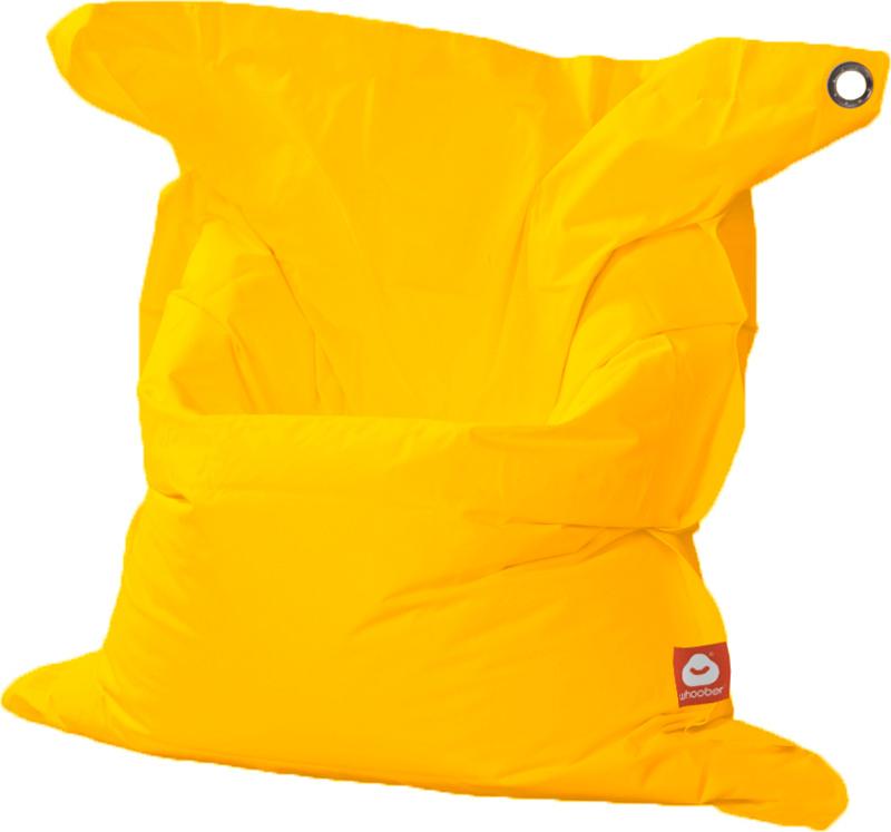 <h3>Comfortabele gele rechthoekige XL-zitzak van Whoober-outdoor kwaliteit die in Nederland door Whoober wordt geproduceerd. Gratis verzending en binnen enkele werkdagen in huis!</h3><h2>Belangrijkste eigenschappen van&nbsp;de St. Tropez XL</h2><ul><li>Oo