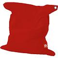 """Whoober Whoober Rechthoek zitzak """"St. Tropez"""" XL outdoor rood - Wasbaar - Geschikt voor buiten"""