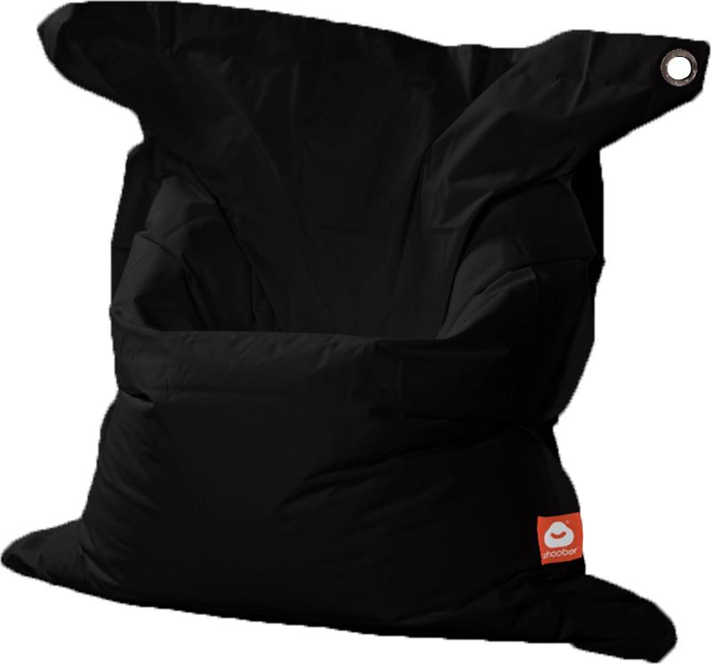 <h3>Comfortabele zwarte rechthoekige XL-zitzak van Whoober-outdoor kwaliteit die in Nederland door Whoober wordt geproduceerd. Gratis verzending en binnen enkele werkdagen in huis!</h3><h2>Belangrijkste eigenschappen van&nbsp;de St. Tropez XL</h2><ul><li>