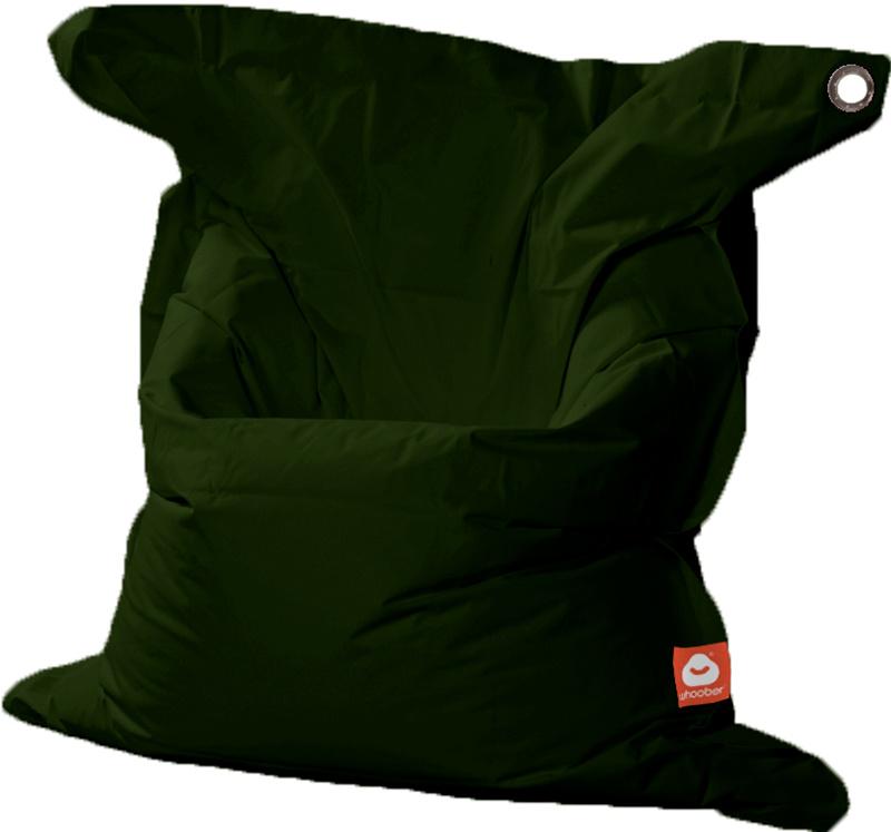 <h3>Comfortabele leger groene rechthoekige XL-zitzak van Whoober-outdoor kwaliteit die in Nederland door Whoober wordt geproduceerd. Gratis verzending en binnen enkele werkdagen in huis!</h3><h2>Belangrijkste eigenschappen van&nbsp;de St. Tropez XL</h2><u