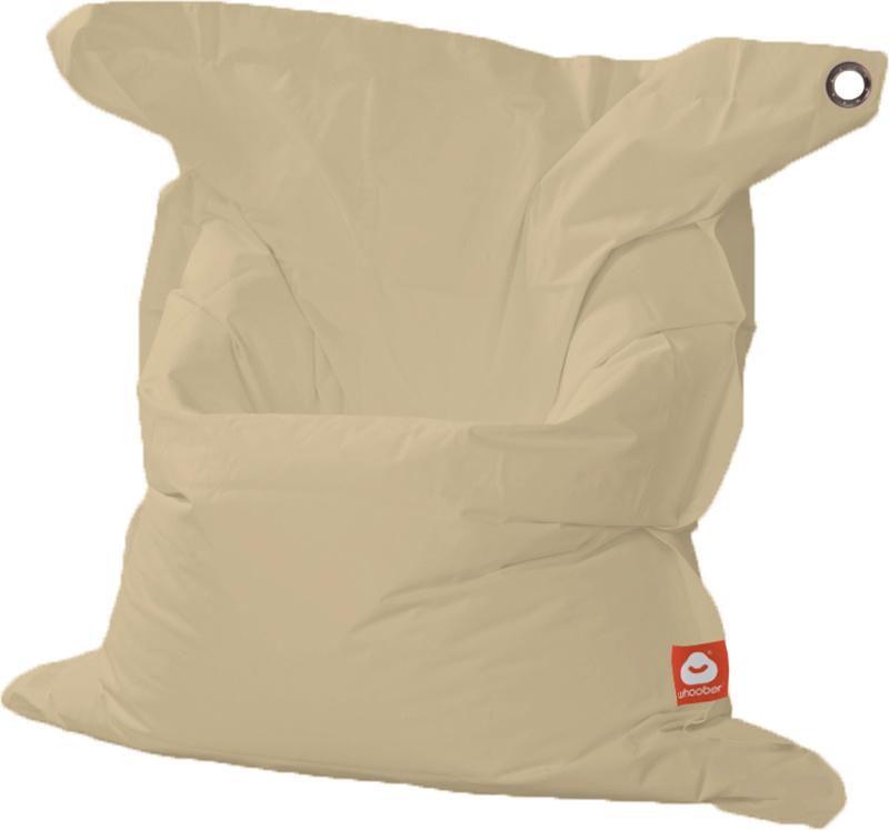 <h3>Comfortabele beige rechthoekige XL-zitzak van Whoober-outdoor kwaliteit die in Nederland door Whoober wordt geproduceerd. Gratis verzending en binnen enkele werkdagen in huis!</h3><h2>Belangrijkste eigenschappen van&nbsp;de St. Tropez XL</h2><ul><li>O