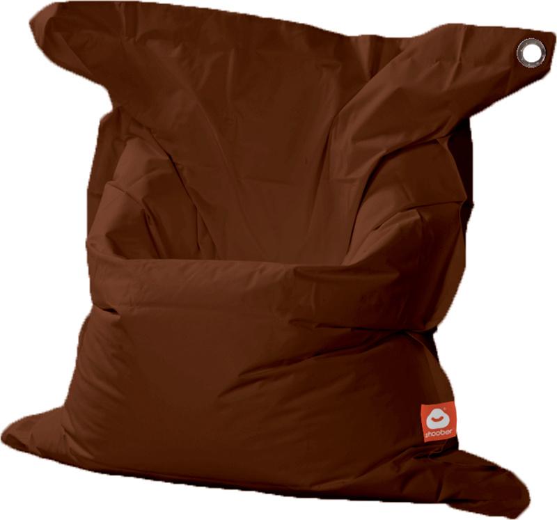 <h3>Comfortabele licht bruine rechthoekige XL-zitzak van Whoober-outdoor kwaliteit die in Nederland door Whoober wordt geproduceerd. Gratis verzending en binnen enkele werkdagen in huis!</h3><h2>Belangrijkste eigenschappen van&nbsp;de St. Tropez XL</h2><u