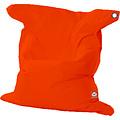 """Whoober Whoober Rechthoek zitzak """"St. Tropez"""" XL outdoor donker oranje - Wasbaar - Geschikt voor buiten"""