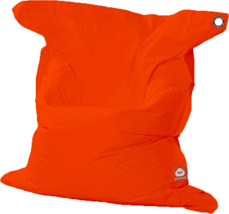<h3>Comfortabele donker oranje rechthoekige XL-zitzak van Whoober-outdoor kwaliteit die in Nederland door Whoober wordt geproduceerd. Gratis verzending en binnen enkele werkdagen in huis!</h3><h2>Belangrijkste eigenschappen van&nbsp;de St. Tropez XL</h2><