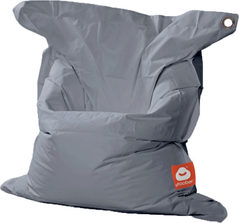 <h3>Comfortabele grijze rechthoekige Medium zitzak van Whoober-outdoor kwaliteit die in Nederland door Whoober wordt geproduceerd. Gratis verzending en binnen enkele werkdagen in huis!</h3><h2>Belangrijkste eigenschappen van&nbsp;de St. Tropez Medium</h2>