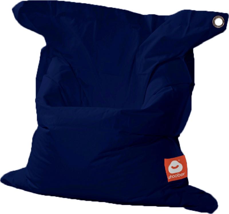 <h3>Comfortabele marine blauwe rechthoekige Medium zitzak van Whoober-outdoor kwaliteit die in Nederland door Whoober wordt geproduceerd. Gratis verzending en binnen enkele werkdagen in huis!</h3><h2>Belangrijkste eigenschappen van&nbsp;de St. Tropez Medi