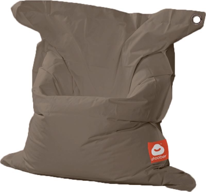 <h3>Comfortabele taupe rechthoekige Medium zitzak van Whoober-outdoor kwaliteit die in Nederland door Whoober wordt geproduceerd. Gratis verzending en binnen enkele werkdagen in huis!</h3><h2>Belangrijkste eigenschappen van&nbsp;de St. Tropez Medium</h2><