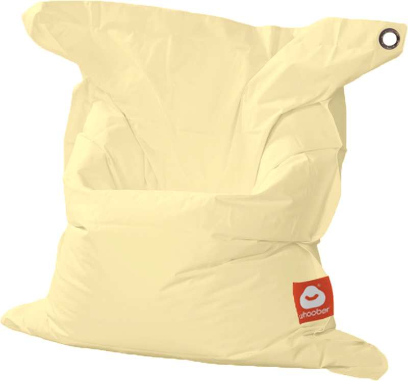 <h3>Comfortabele crème rechthoekige Medium zitzak van Whoober-outdoor kwaliteit die in Nederland door Whoober wordt geproduceerd. Gratis verzending en binnen enkele werkdagen in huis!</h3><h2>Belangrijkste eigenschappen van&nbsp;de St. Tropez Medium</h2><