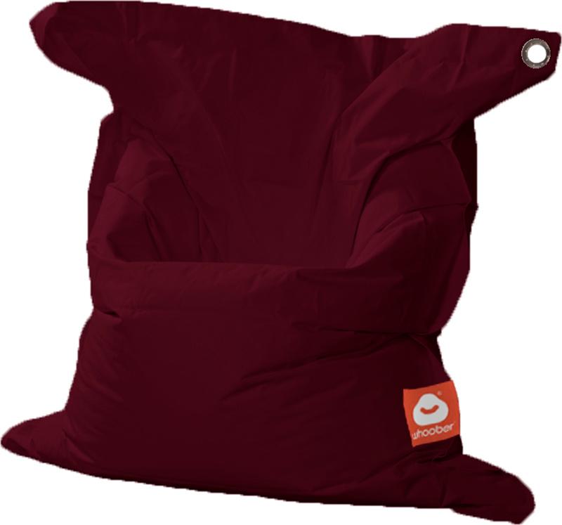 <h3>Comfortabele bordeaux rood rechthoekige Medium zitzak van Whoober-outdoor kwaliteit die in Nederland door Whoober wordt geproduceerd. Gratis verzending en binnen enkele werkdagen in huis!</h3><h2>Belangrijkste eigenschappen van&nbsp;de St. Tropez Medi