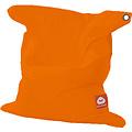 """Whoober Whoober Rechthoek zitzak """"St. Tropez"""" M outdoor oranje - Wasbaar - Geschikt voor buiten"""