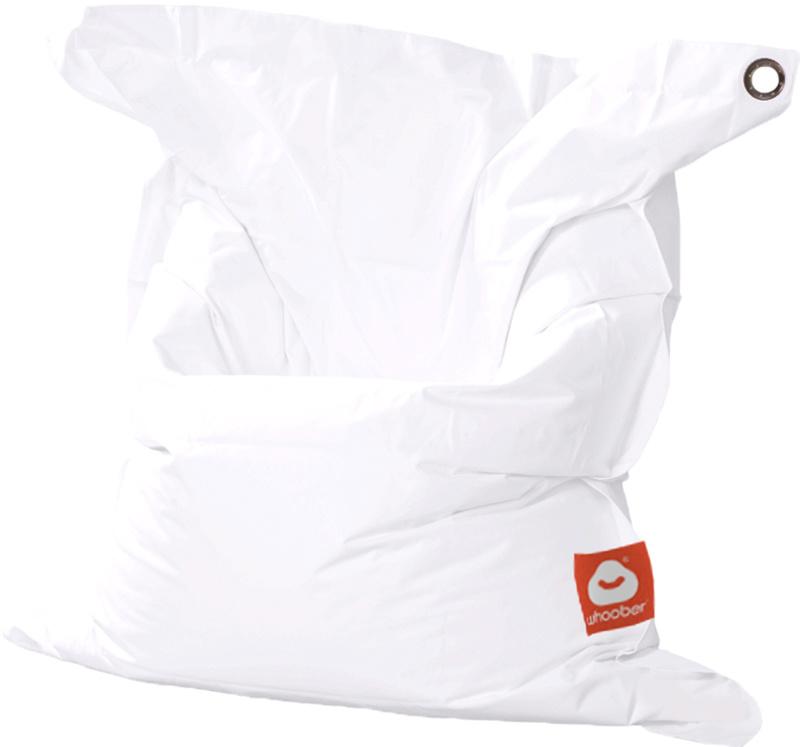 <h3>Comfortabele witte rechthoekige Medium zitzak van Whoober-outdoor kwaliteit die in Nederland door Whoober wordt geproduceerd. Gratis verzending en binnen enkele werkdagen in huis!</h3><h2>Belangrijkste eigenschappen van&nbsp;de St. Tropez Medium</h2><