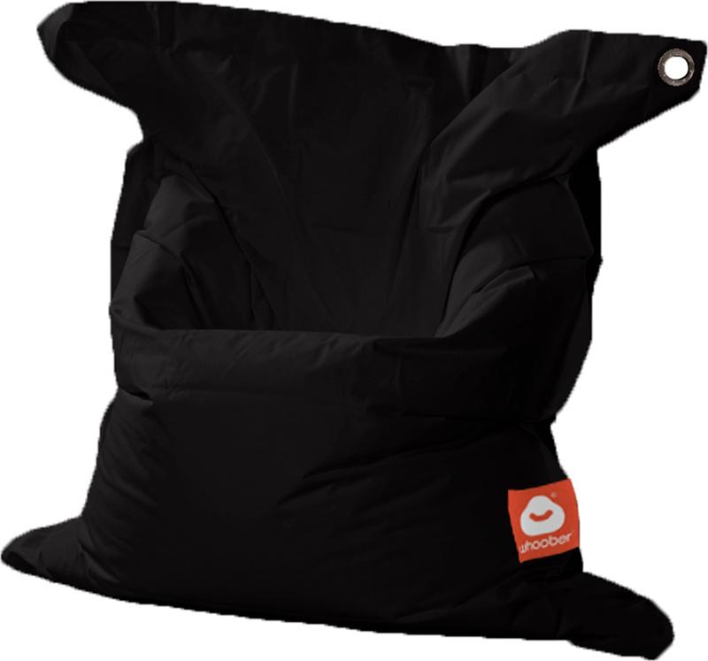 <h3>Comfortabele zwarte rechthoekige Medium zitzak van Whoober-outdoor kwaliteit die in Nederland door Whoober wordt geproduceerd. Gratis verzending en binnen enkele werkdagen in huis!</h3><h2>Belangrijkste eigenschappen van&nbsp;de St. Tropez Medium</h2>